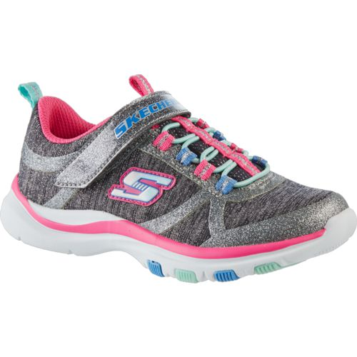 SKECHERS Girls' Trainer Lite Running Shoes - view number 2