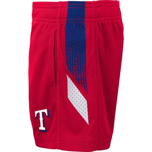 MLB Boys' Texas Rangers Ground Rules Top and Short Set - view number 4