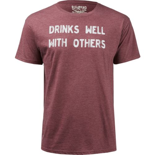 Big Bend Outfitters Men's Drinks Well With Others Short Sleeve T-shirt - view number 1