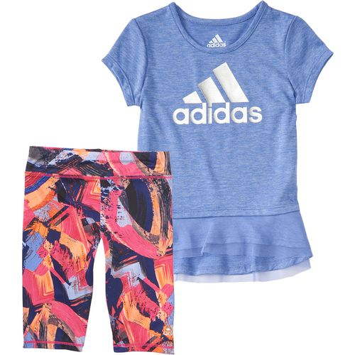 adidas Toddler Girls' Energy Capri Tights Set