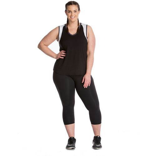 Lola Getts Women's Colorblock Plus Size Tank Top
