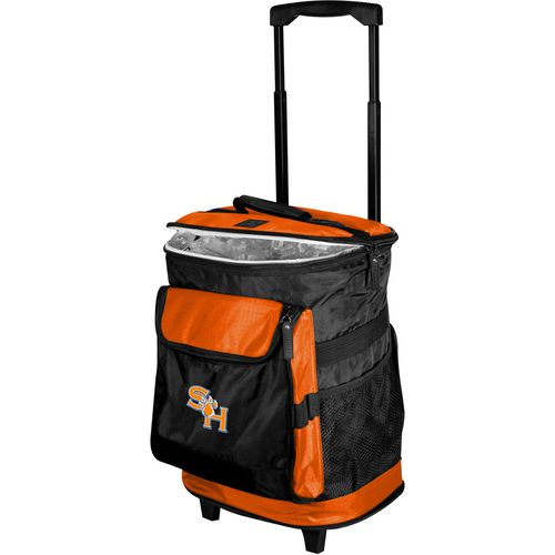 Logo Sam Houston State University Rolling Cooler