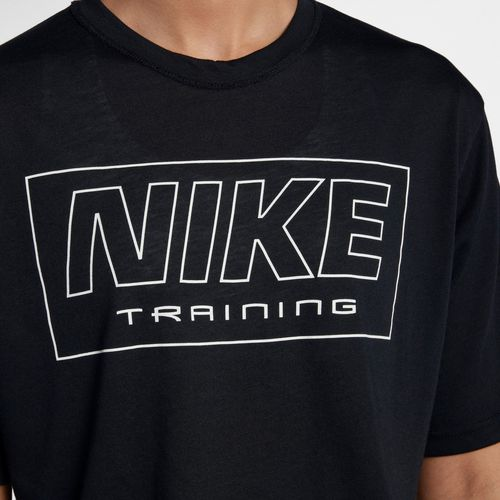Nike Women's Training Graphic Short Sleeve Crop T-shirt - view number 1