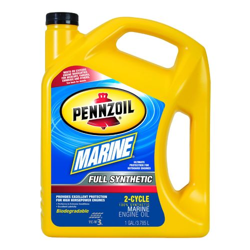 Image for Pennzoil Marine Full Synthetic 2-Cycle Oil from Academy