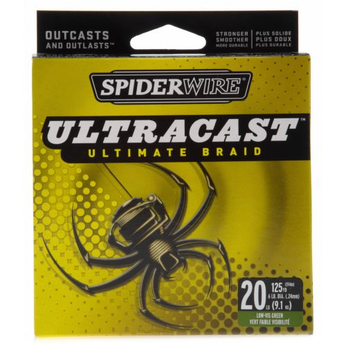 Academy spiderwire ultracast 20 lb 125 yards for 20 lb braided fishing line