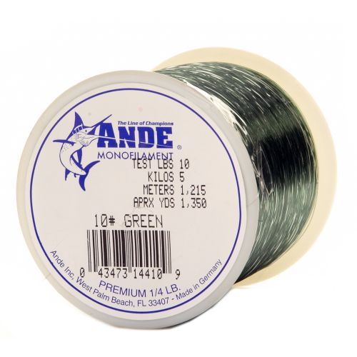 ANDE® Premium 10 lb. - 1,350 yards Monofilament Fishing Line