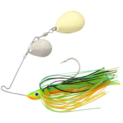 Wahoo Bitty Bite 1/4 oz Double Colorado Blade Spinnerbait