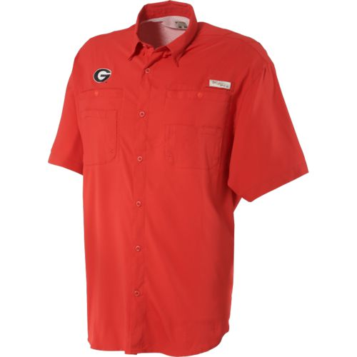Image for Columbia Sportswear Men's University of Georgia Collegiate Tamiami™ Shirt from Academy