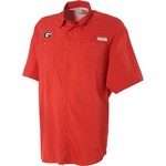 Columbia Sportswear Men's University of Georgia Collegiate Tamiami Shirt - view number 1