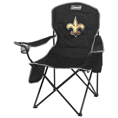 Coleman® New Orleans Saints XL Cooler Quad Chair