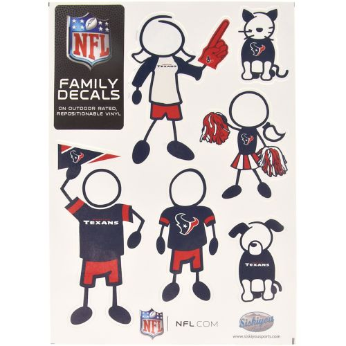 "Image for Stockdale NFL 5"" x 7"" Family Decal from Academy"