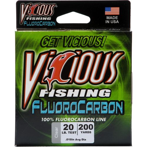 Vicious 20 lb. - 200 yards Fluorocarbon Fishing Line