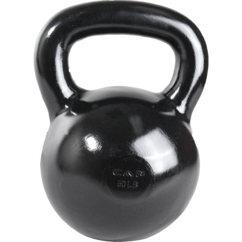 Display product reviews for CAP Barbell 50 lb. Cast Iron Kettlebell