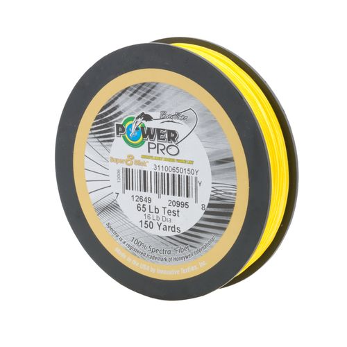 PowerPro Super 8 Slick 65 lb. - 150 yards Braided Fishing Line