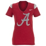 Nike Women's University of Alabama Football Replica T-shirt