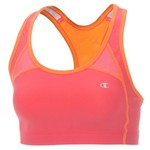 Champion Women's Cotton Fitness Racerback Sports Bra