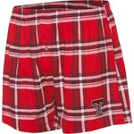 Concepts Sport Men's Texas Tech University Millennium Plaid Boxer
