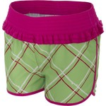 O'rageous® Girls' Ruffled Print Board Short