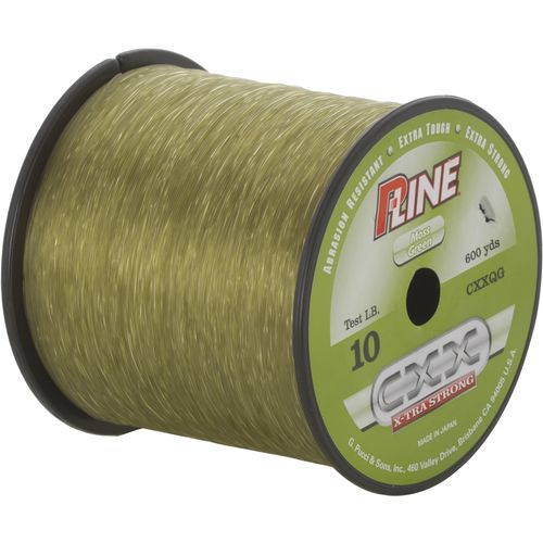 Image for p line cxx x tra strong 10 lb 600 yards for Pline fishing line