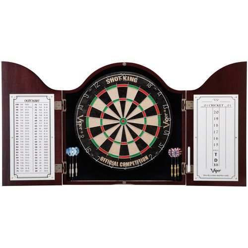 GLD Cambridge Mahogany Dartboard Cabinet