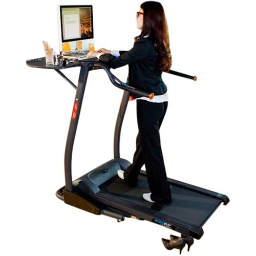 Exerpeutic 2000 Workfit High Capacity Desk Station Treadmill - view number 1