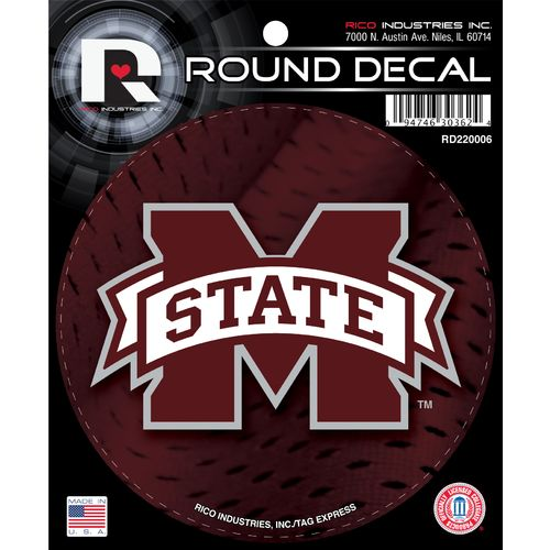 Tag Express Mississippi State University Round Decal