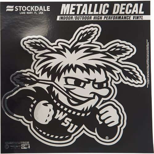 Stockdale Wichita State University Metallic Decal