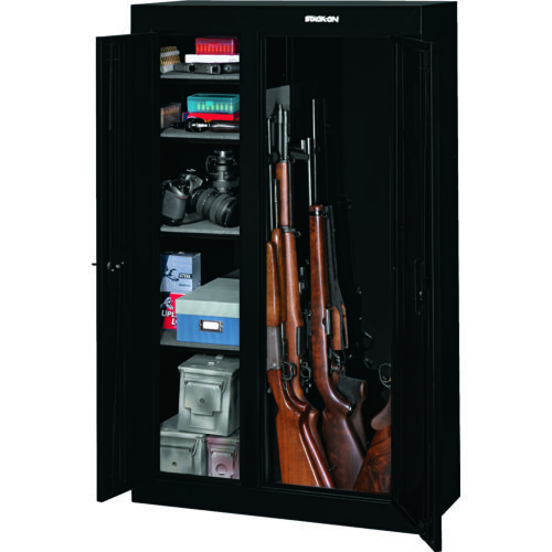 Stack-On 10-Gun Double Door Security Cabinet - view number 2