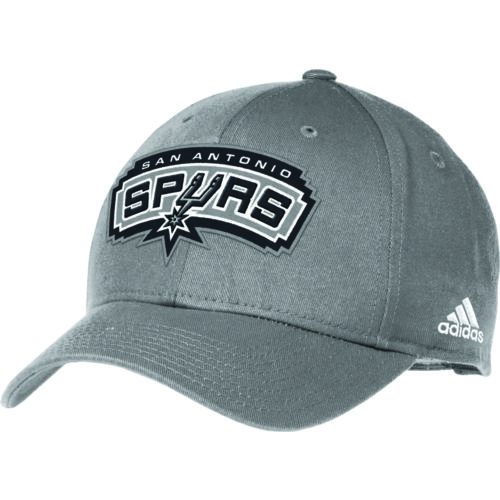 adidas Adults' San Antonio Spurs Structured Adjustable Cap