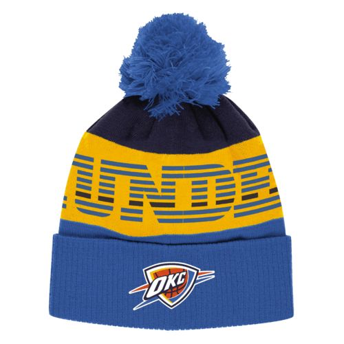 adidas™ Men's Oklahoma City Thunder Cuffed Pom Hat