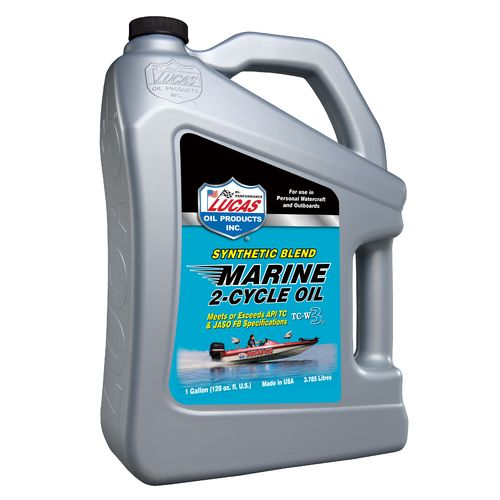 Lucas Oil Synthetic Blend 2-Cycle TC-W3 Marine Oil