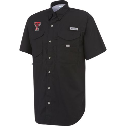 Display product reviews for Columbia Sportswear Men's Texas Tech University Collegiate Bonehead Shirt