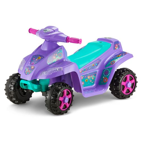 Display product reviews for KidTrax Girls' Melody 6V Quad Ride-On