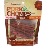 Pork Chomps Premium Assorted Munchy Sticks 50-Pack
