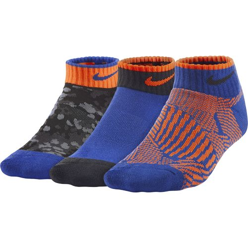 Nike Boys' Graphic Cotton Cushioned Socks 3-Pair