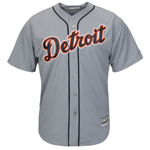 Majestic Men's Detroit Tigers Justin Verlander #35 Cool Base® Road Jersey - view number 2