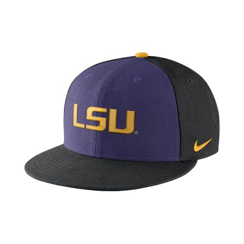 Nike™ Men's Louisiana State University Pro Verbiage Adjustable Cap
