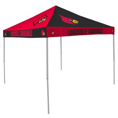 Logo™ University of Louisville Straight-Leg 9' x 9' Checkerboard Tent