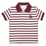 Two Feet Ahead Toddlers' Texas State University Stripe Golf Shirt