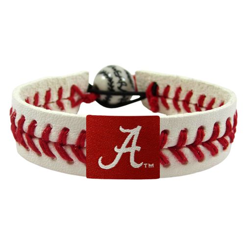 GameWear University of Alabama A Logo Classic Baseball Bracelet