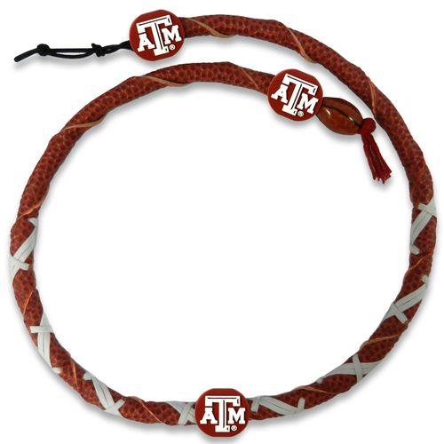 GameWear Texas A&M University Classic Spiral Football Necklace