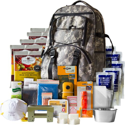 Display product reviews for Wise Company 5-Day Survival Backpack