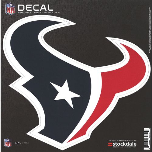 "Stockdale Houston Texans 6"" x 6"" Decal"