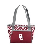 Logo Chair University of Oklahoma Double Diamond 16-Can Cooler Tote