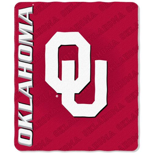 The Northwest Company University of Oklahoma Marquee Fleece Throw
