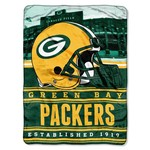 The Northwest Company Green Bay Packers Stacked Silk Touch Throw - view number 1
