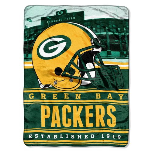 The Northwest Company Green Bay Packers Stacked Silk Touch Throw
