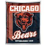 The Northwest Company Chicago Bears Old School Mink with Sherpa Throw