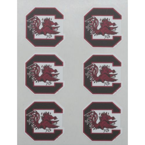 Stockdale University of South Carolina Face Decals 6-Pack