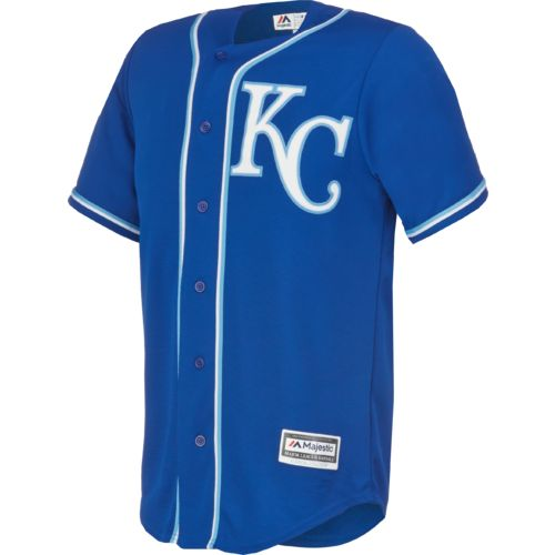 Majestic Men's Kansas City Royals Salvador Perez #13 Cool Base® Jersey - view number 1